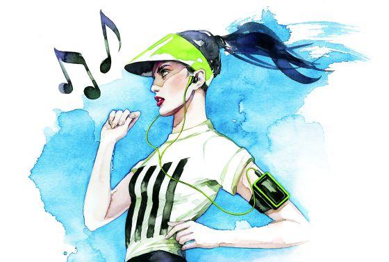 entrenar con musica aumenta el rendimiento físico