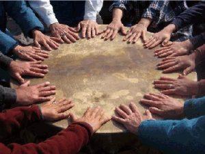 manos tambores